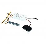 LED 12V Touch-Dimmer Set kleur Rvs