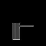 Quooker zeeppomp Nordic zwart met zeepreservoir 500ml