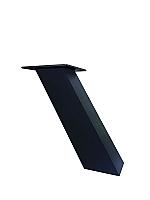 Bladsteun 50 schuin model matzwart