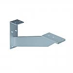 Bladsteun V voor horizontale en vertikale plaatsing aluminium