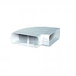 Luchtafvoer HR+ 150 Bocht 90 Graden Horizontaal kleur Wit