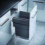 Hailo Cargo Synchro 450 afvalsysteem Front 55 Liter grijs