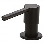 Carressi Black Line zeepdispenser zwart CA203BK