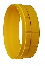 Luchtafvoer Afvoerslangmontagering ø 125mm kleur Geel