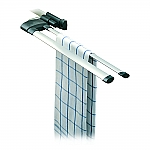 Hailo Secco Alu-Line doekenrek aluminium 3132