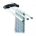 Hailo Secco Alu-Line doekenrek aluminium 3133