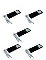 Hera Eco Pad F Ledset met 5 spots en infrarood dimmer/schakelaar zwart