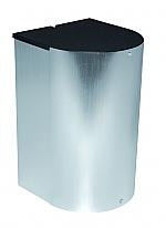 Bachmann Stopcontact Elevator Cover design afdekking, inbouw kleur Rvs-Look
