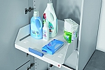 Laundry Area metalen uittreklad