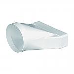 Domus Luchtafvoer 570 Beginstuk kleur Wit