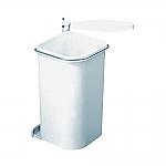 Hailo Pico badkamer afvalemmer 5 liter wit 3505-00