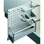 Hailo 3909 Accessoire inbouw opbergrekje voor flessen etc. Alu/Grijs