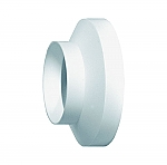 Domus luchtafvoer 118 verloopstuk 125-150 mm kleur wit
