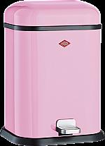 Wesco Single Boy 13 liter afvalemmer roze 13221226