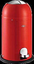 Wesco Kickmaster Junior afvalemmer 12 liter rood