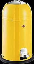 Wesco Kickmaster Junior afvalemmer 12 liter lemon yellow
