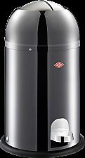 Wesco Kickmaster Junior afvalemmer 12 liter RVS