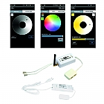 Hera LED 24V Wifi Dynamic/Dimmer Remote-Controller kleur Wit
