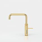 Quooker Fusion square goud met Combi reservoir