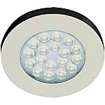 Hera LED inbouw spot ER warm wit RVS-look