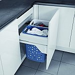 Hailo Laundry Carrier 60 ondiepe uitvoering S 600