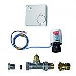 Kickspace Plint-heater Thermostatische Afsluiter kleur Wit