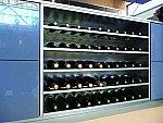 Wijnrek Vrijstaand wijnrek opbouwmodule voor 10 wijnflessen  kleur Rvs