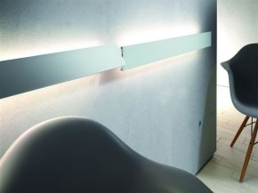 TL verlichting Blindlight 28w - 1200 mm kleur Rvs-Look