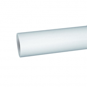 Domus Luchtafvoer 1100-5 Pijp Rond 125 kleur Wit