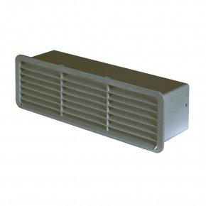 Domus Luchtafvoer 501 Ventilatie Rooster kleur Bruin