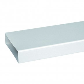 Domus Luchtafvoer 510 Buis 1000mm kleur Wit