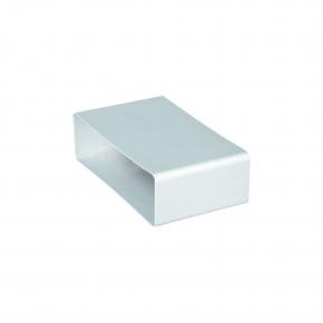 Domus Luchtafvoer 520 Buisverbinder kleur Wit