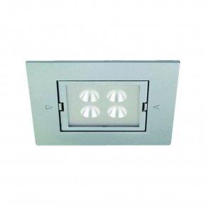 Hera LED Inbouw spot ARF-Q kleur Rvs-Look