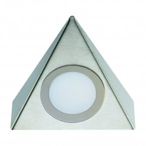 Hera Delta LED onderbouw spot kleur Rvs