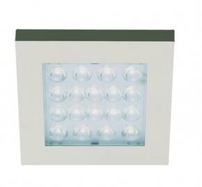 Hera LED Inbouw spot EQ Warm Wit kleur Rvs-Look