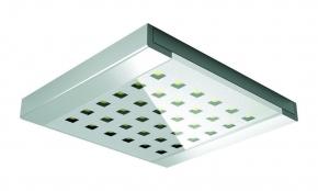 Hera LED Onderbouw spot Q-Pad kleur Rvs-Look