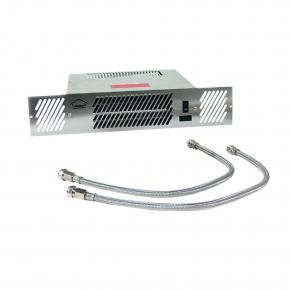 Kickspace Plint-heater CV 1400W kleur Rvs