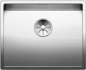 Blanco Spoelbak Claron 500-U Onderbouw kleur Rvs
