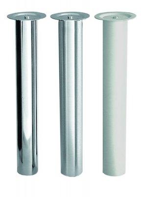 Tafelpoot Cento hoogte 720 - 740 mm kleur Rvs-Look