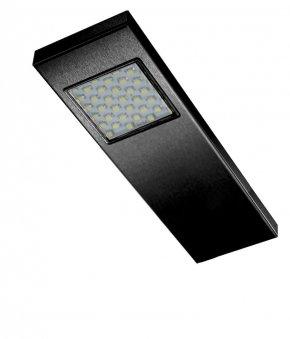 Dotty led spot - 12 V zwart